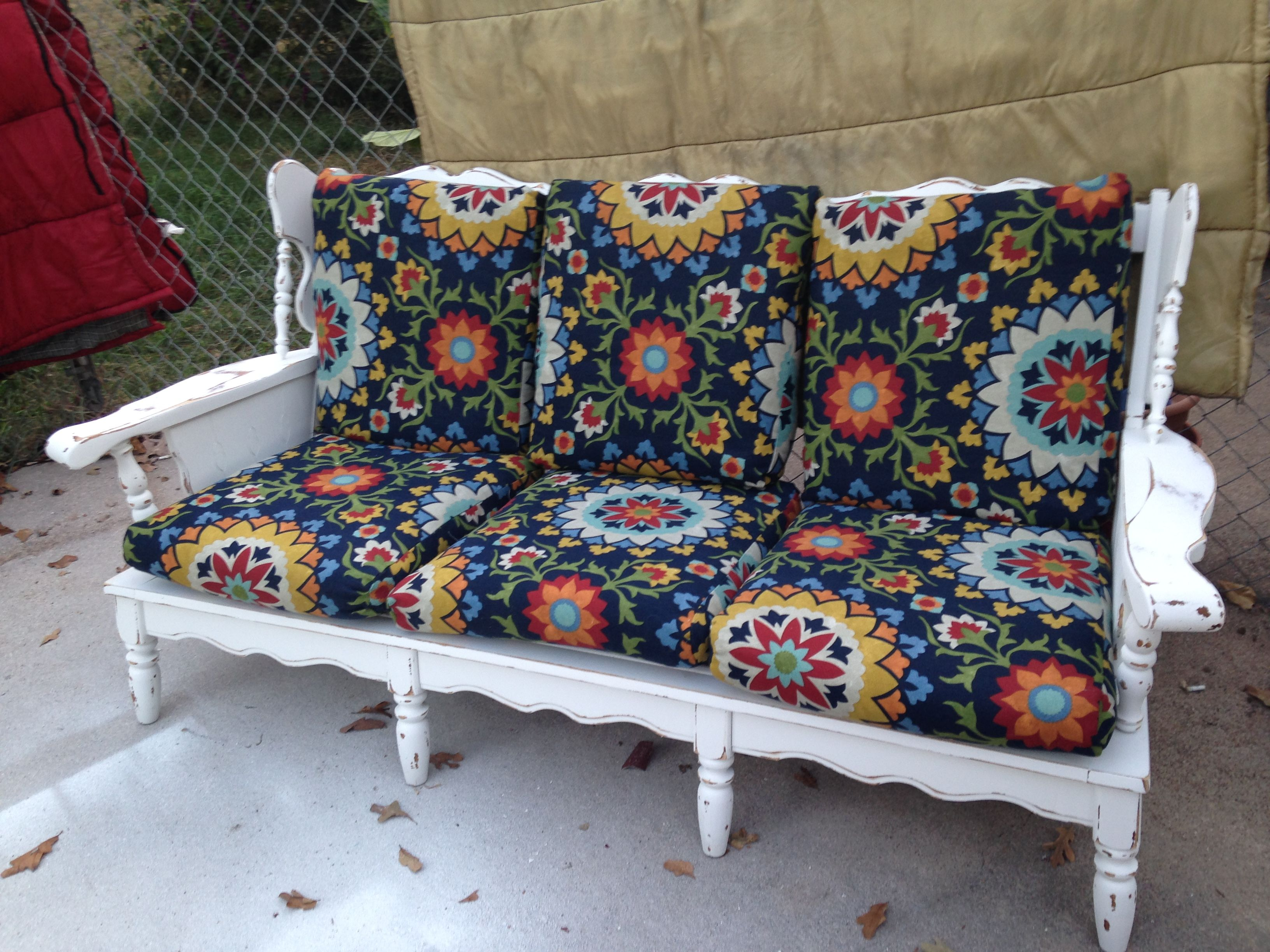 Park Art My WordPress Blog_Wood Frame Chair With Cushions