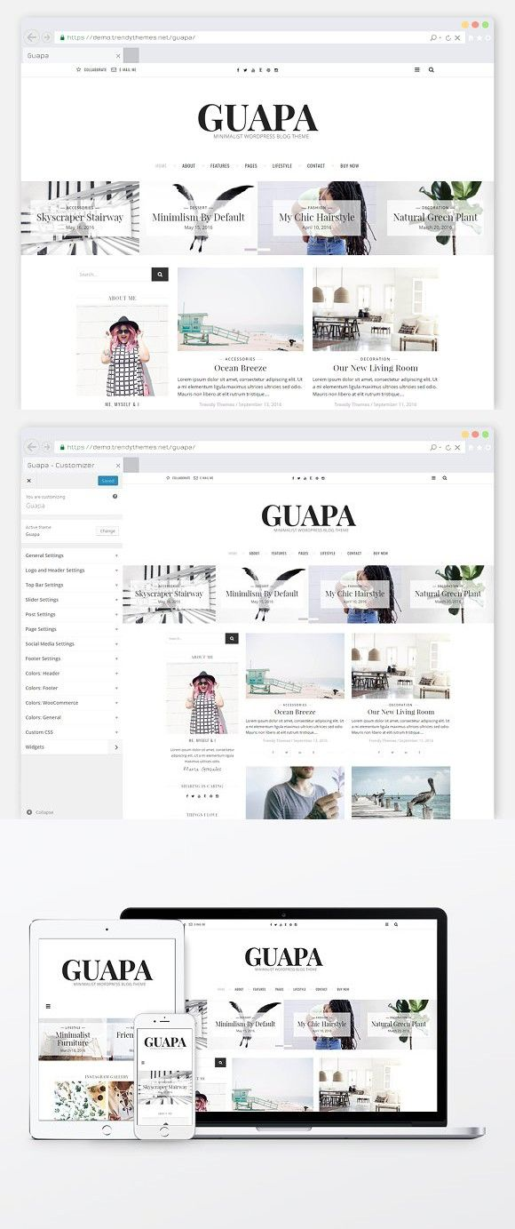 Minimal WordPress Blog Theme \
