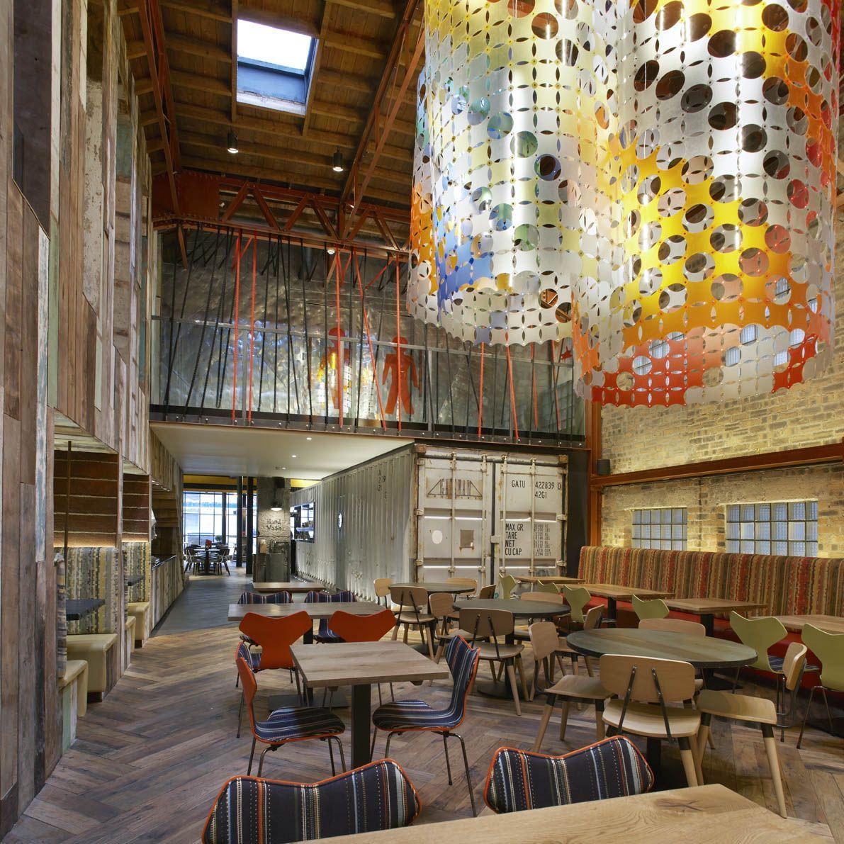 Nandos Restaurant Interior Design