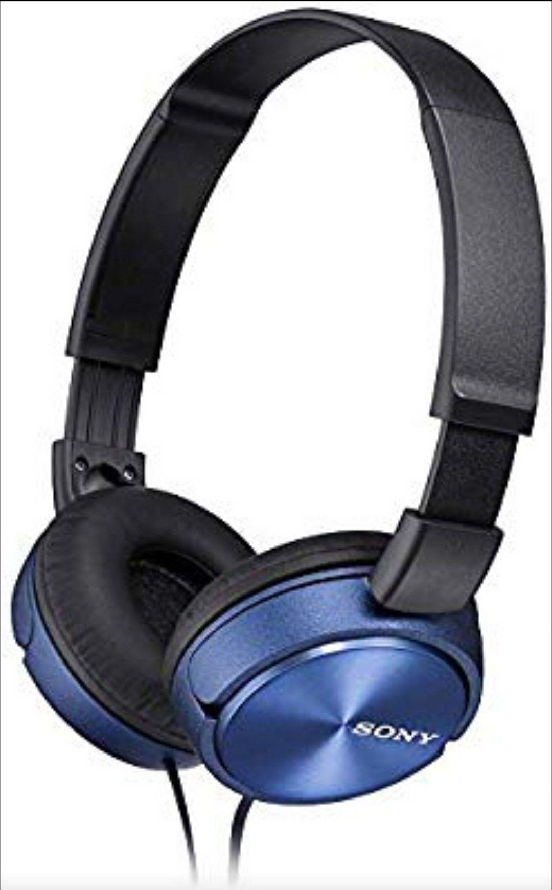 Driver al neodimio da 30 mm. Cuffie con archetto dal design leggero e pieghevole, driver da 30 mm e 98 dB/mW di sensibilità. Gamma di frequenza 10-24.000 Hz. Cuffie con archetto dal design leggero e pieghevole, driver da 30 mm e 98 dB/mW di sensibilità. Driver al neodimio da 30 mm. Gamma di frequenza 10-24.000 Hz.Design pieghevole e compatto. #amazon #sony #onear #music #blu
