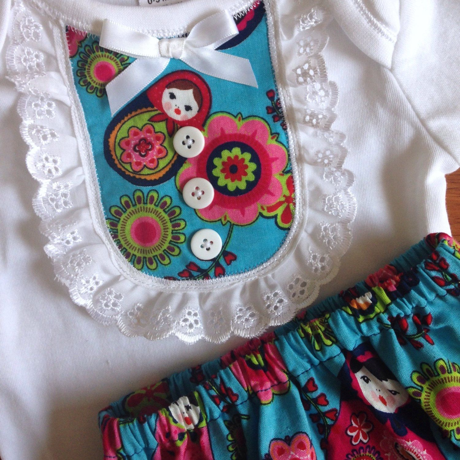 I love this set Size 000 baby bloomer and onesie set FREE SHIPPING