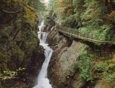 High Falls Gorge - Lake Placid - New York on FamilyDaysOut.com