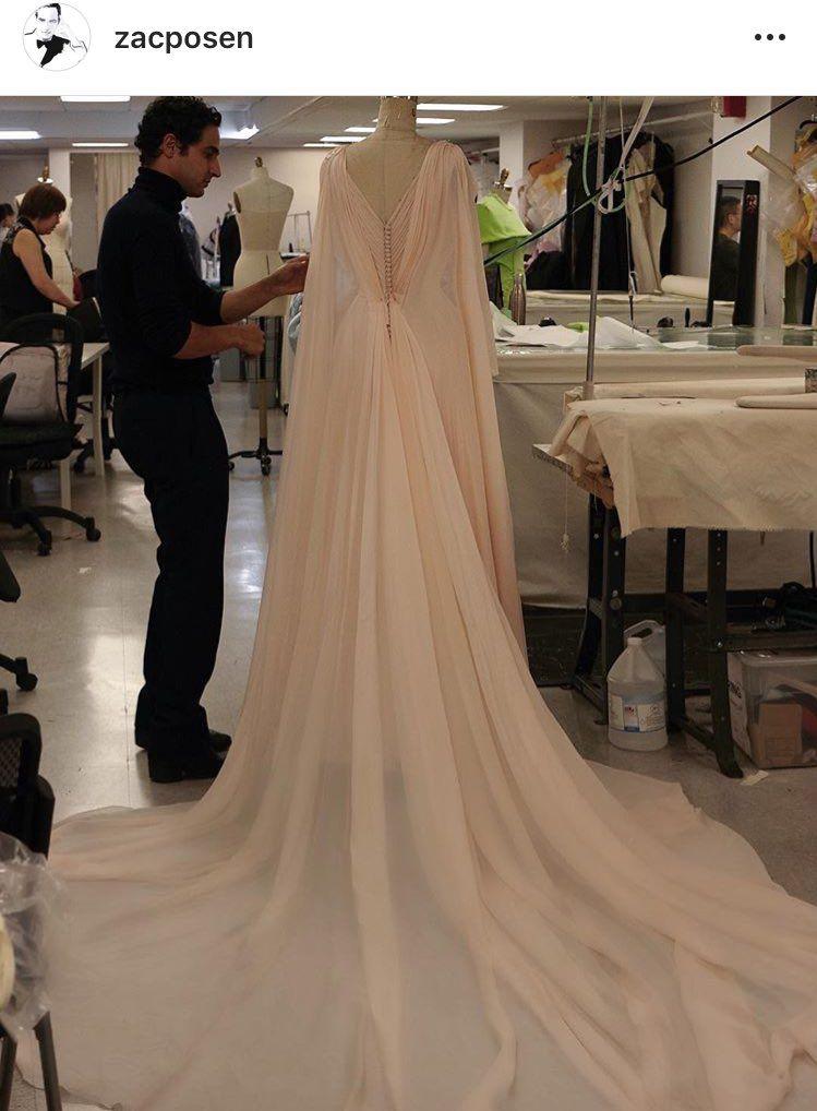 2d8b91a51cba From Zac Posen...Princess Eugenie s reception dress