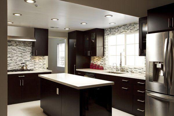 16 Dramatic Dark Kitchen Design Ideas sara Pinterest Kitchen
