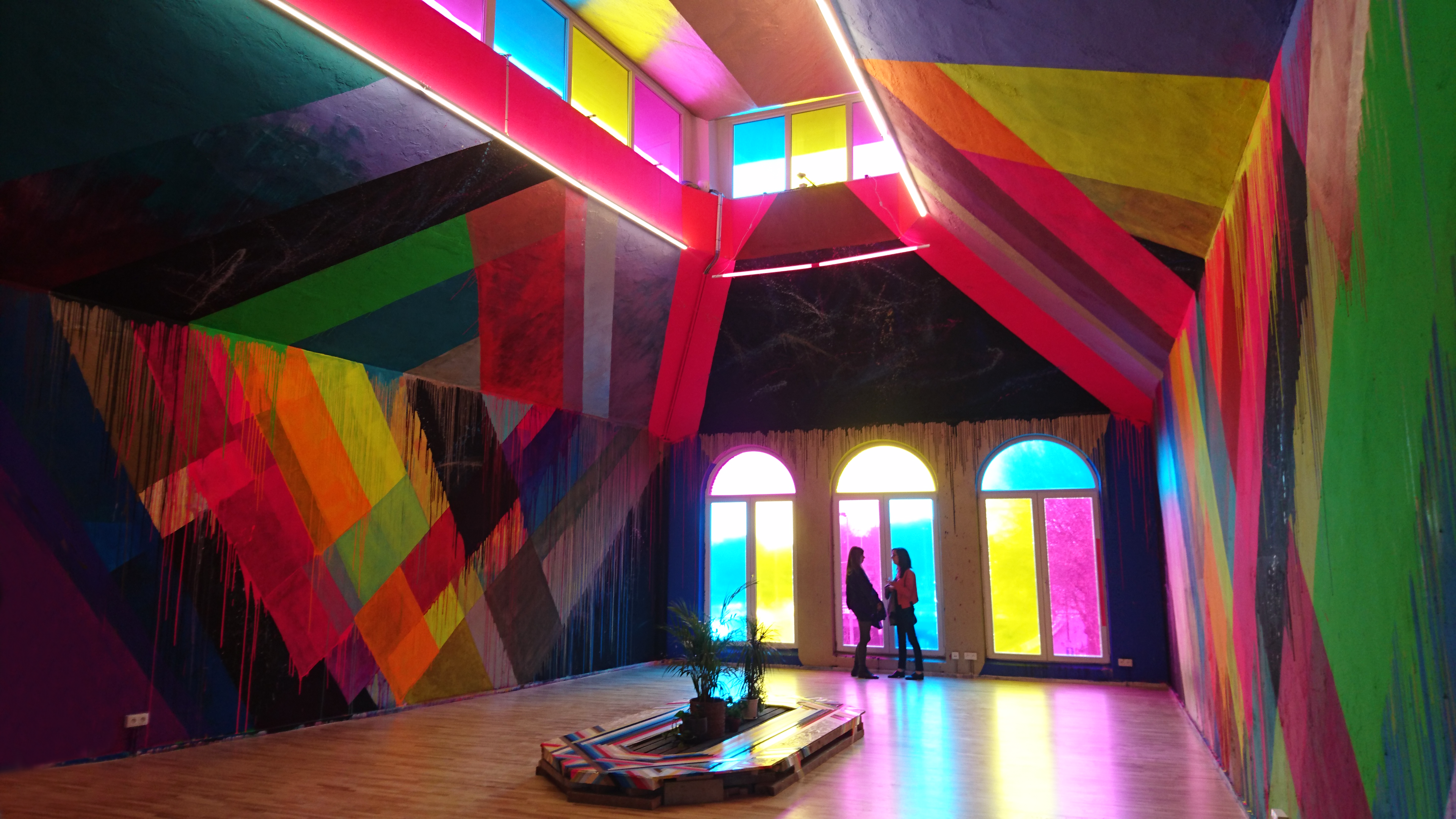 MIMA the Millennium Iconoclast Museum of Art is a veritable temple of colours!