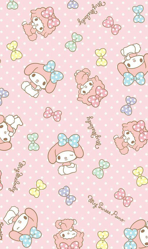 Weheartit Entry 227012804 Sanrio WallpaperHello Kitty WallpaperKawaii WallpaperMy Melody