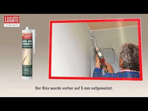 Anleitung Wand Decke Fassade Ausbessern Lugato Riss Und Fugen