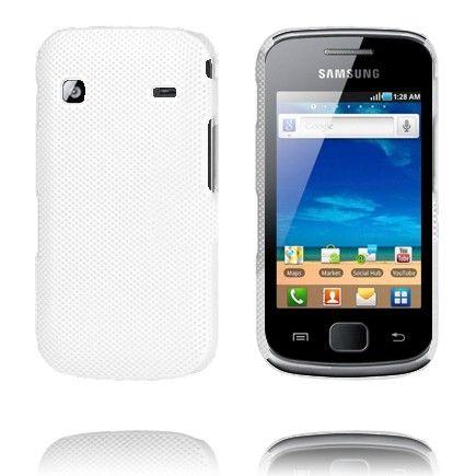 Supreme (Valkoinen) Samsung Galaxy Gio Suojakuori