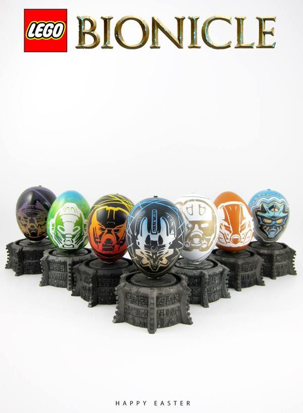 BIONICLE Easter | BIONICLE | Pinterest