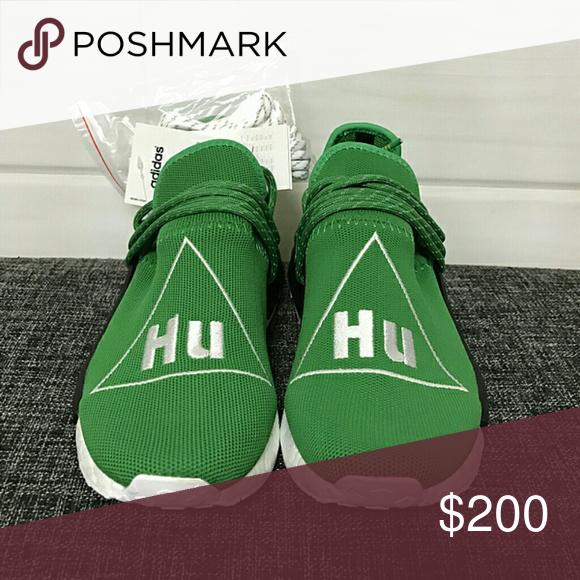 de9f32e96 Pharrell Williams Adidas Human Race NMD PW green Size 5-13(men   women)