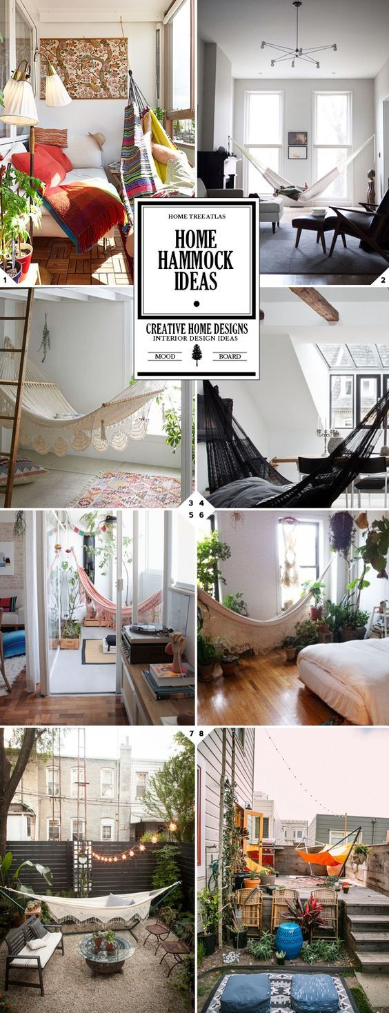 How To Add A Relaxing Indoor Hammock In Your Home   Home Tree Atlas