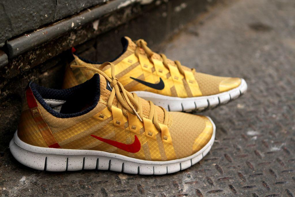 Nike Free Powerlines gold Nike free, Cheap nike free, Nike