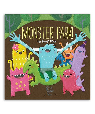 Look what I found on #zulily! Monster Park! Hardcover #zulilyfinds