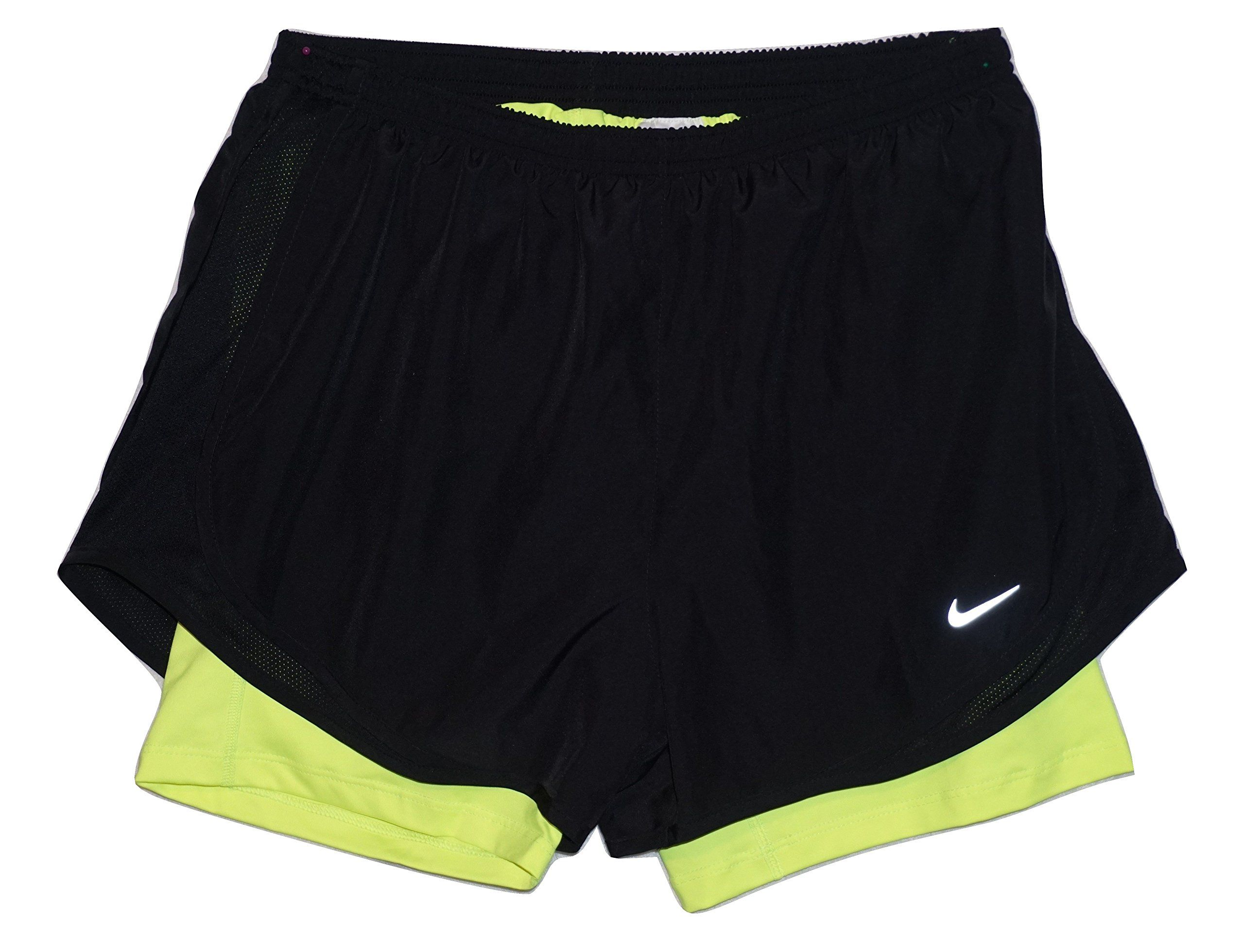 : NIKE Flex 2 in 1 3 Running Shorts Womens