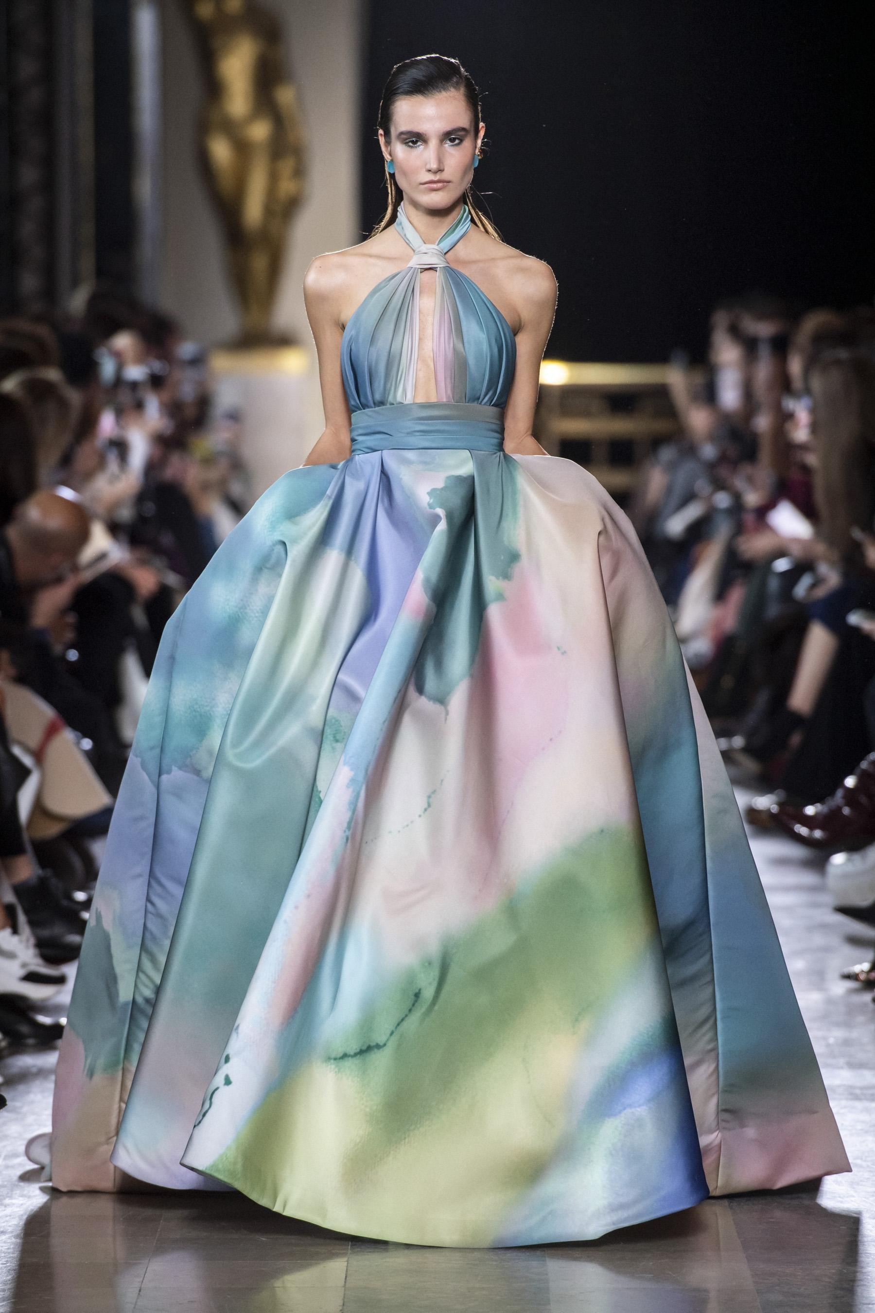 Défilé Elie Saab printempsété 2019 Couture Belle robe