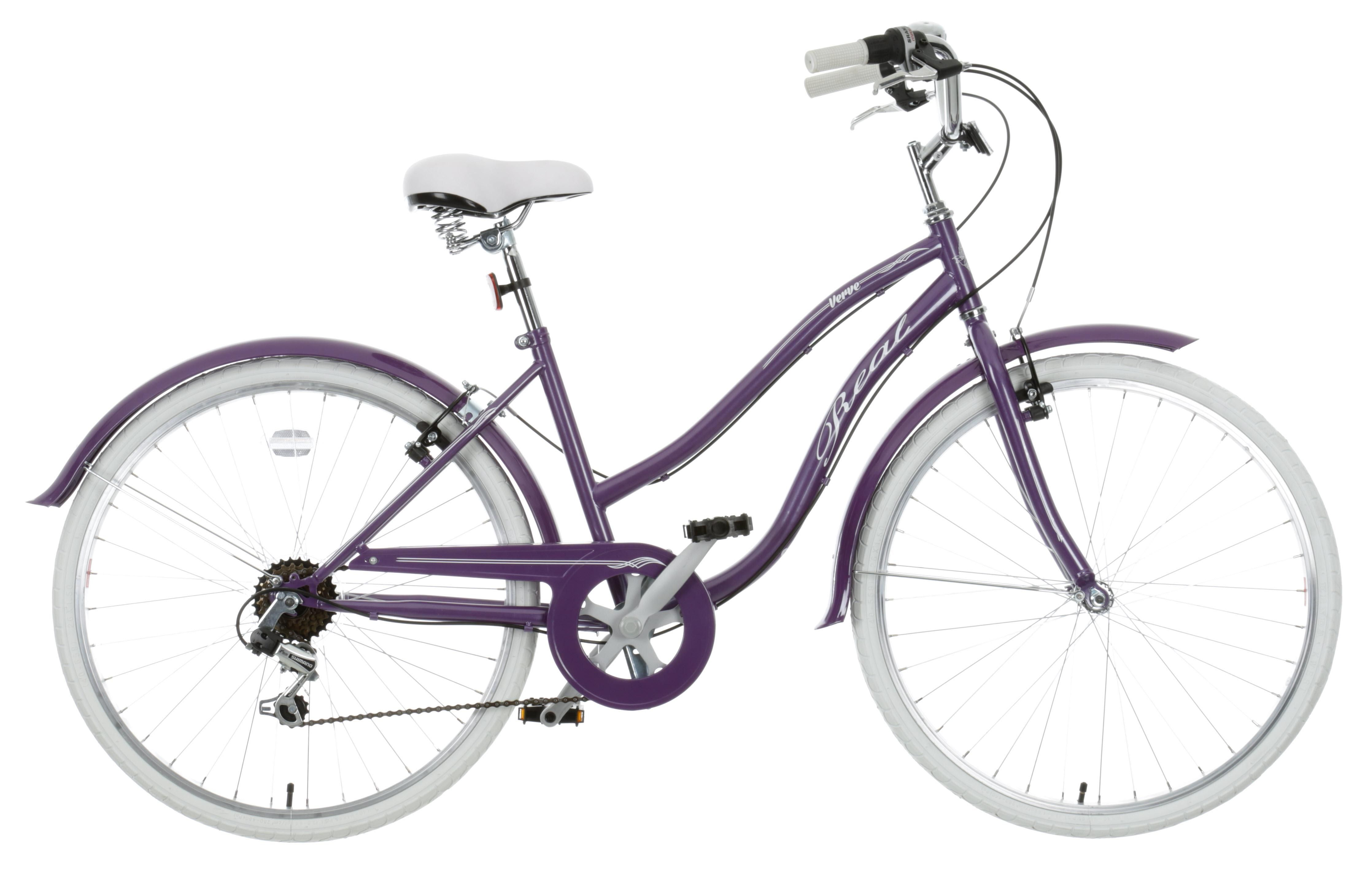 The Real Verve Womens Hybrid Bike Beautiful Purple Frame Will Have
