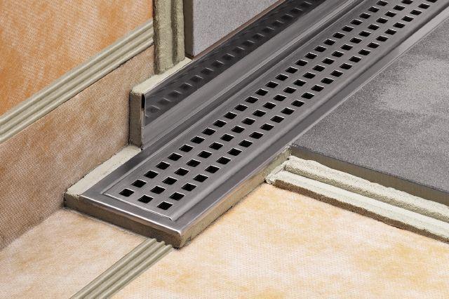 Schluter Showerprofile R Floor Drains Shower Installation Shower Systems
