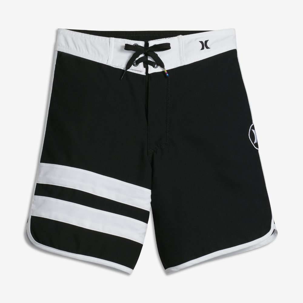 dba70466a4 Hurley Block Party Big Kids' (Boys') Board Shorts Size 8 (Black ...