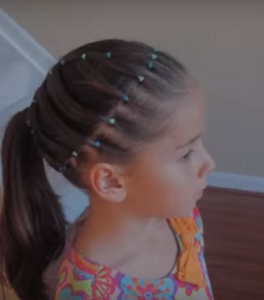 peinados de niña con ligas paso a paso. si deseas realizarle un