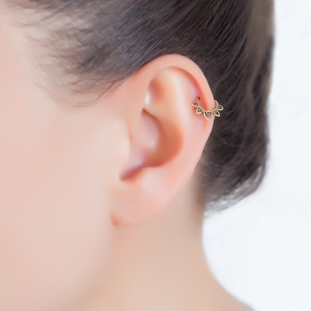 Stainless Steel Piercing Hoop Earring Helix Nose Ear Cartilage Ring Cool Super