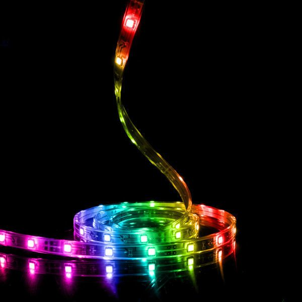 16 Ft Rgb Led Tape Light 12v 5050 60 Ip65 Rgb1250 Led Tape Lighting Tape Lights Led Strip Lighting