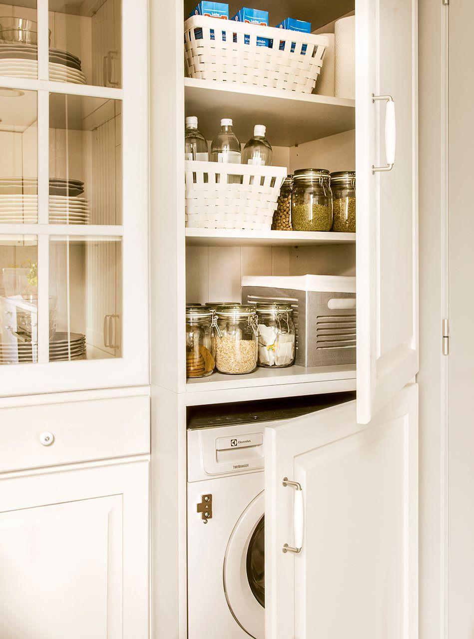 En vertical. | Decoración | Cocinas y baños, Armarios cocina ...