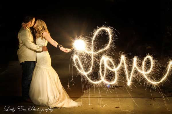 Light Painting Wedding Photography: Light Painting With Lady Em Photography! HOW TO!