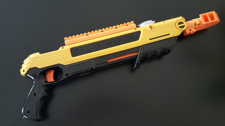 bug a salt full length scope mount red dot mount gun fly swatter