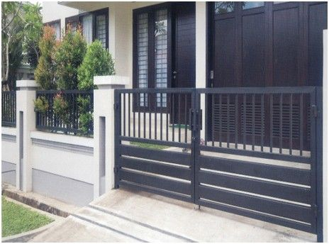 Desain Pagar Rumah Minimalis Modern House Fence Design Home