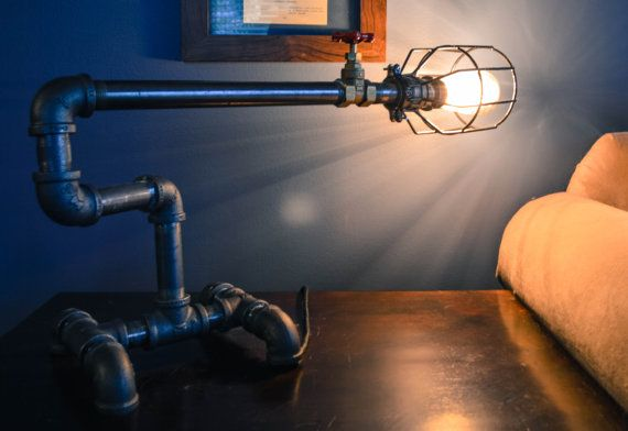 Hey, I found this really awesome Etsy listing at https://www.etsy.com/listing/112072664/edison-industrial-long-table-lamp-pipe - lighting unique designer beautiful bold unusual classy elegant lamp shade sculpture