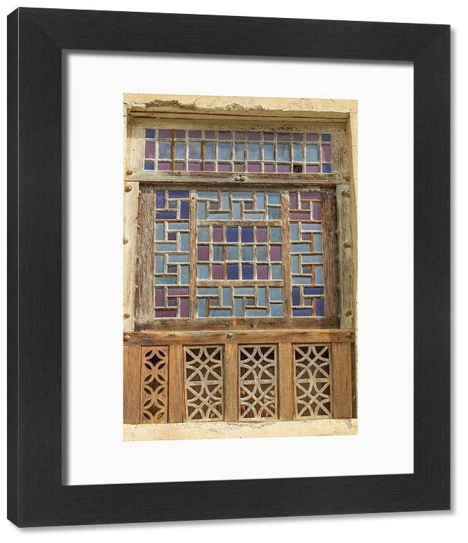 Framed Print-Masuleh, Masoleh, Masouleh, Fuman County, Gilan Province, Iran-33x28 cm Frame and mount made in Australia