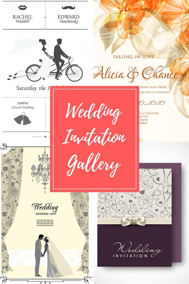 Fantastic Our Wedding Invitation Motif - Invitations and ...