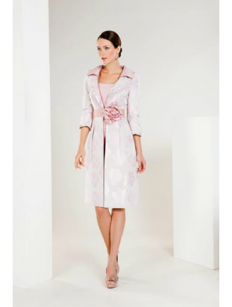 SONIA PENA Sonia Pena Dress and Coat with Belt | Coats, Occasion ...