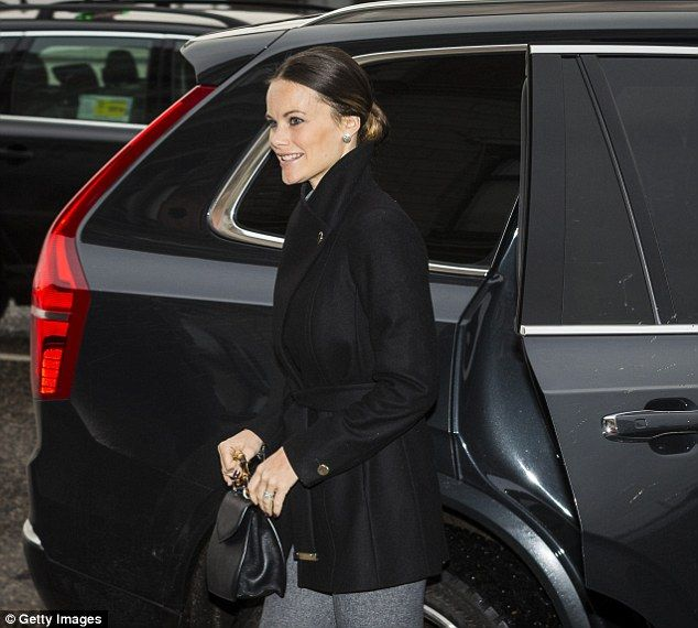 Royals & Fashion -  Princess Sofia attended a lunch on social entrepreneurship and sustainable development held in a hotel in Stockholm.