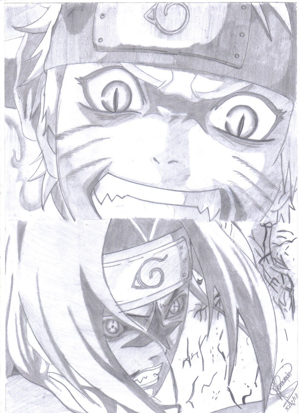 Final Decision By Ronstadt On Deviantart Naruto Sketch Anime Drawings Naruto Drawings