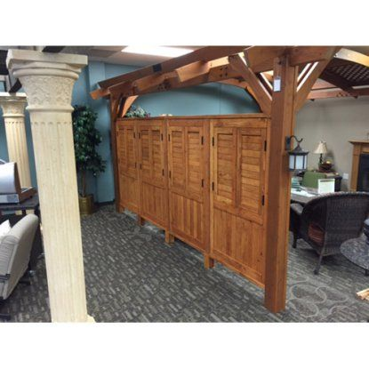 Outdoor Greatroom Privacy Wall For Sonoma Arched Pergola Privacy Walls Pergola Pergola Patio