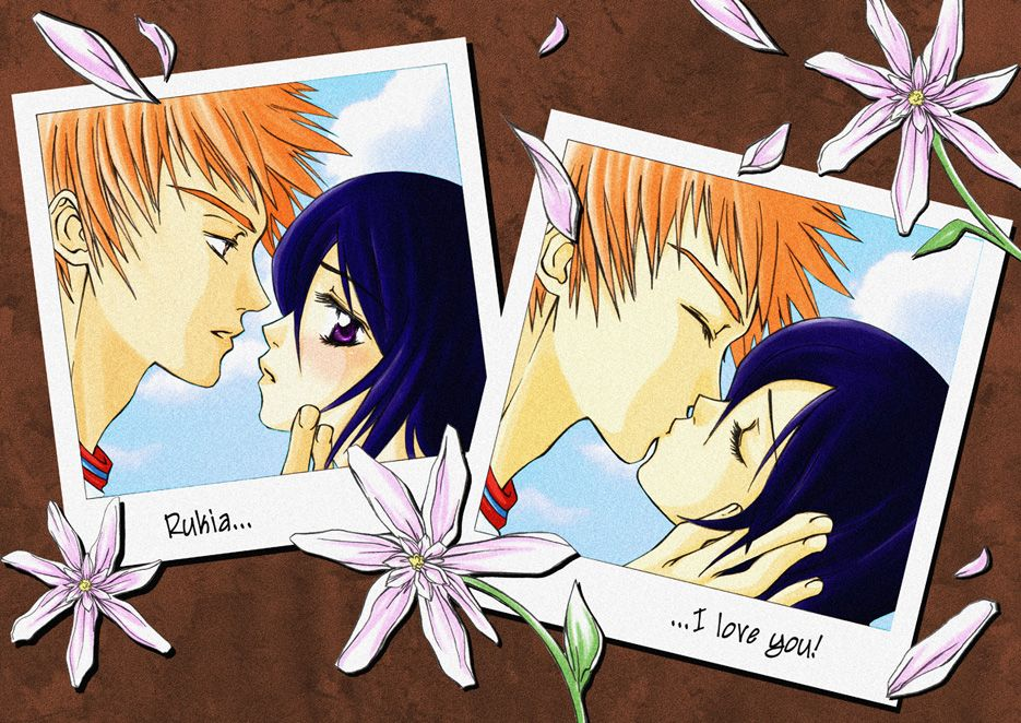 Ichigo And Rukia By Beiron On DeviantArt