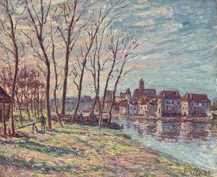 Alfred Sisley Vue de Moret