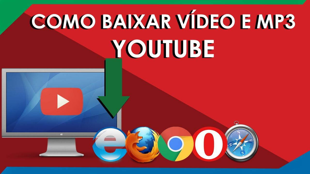 Baixar Video Ou Mp3 Do Youtube Sem Programas Ou Extensoes