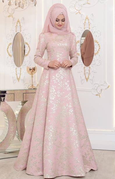 Tesettur Nisanlik Modelleri 2019 Tesettur Abiye Elbise Modelleri Elbise Modelleri Elbise Dugun