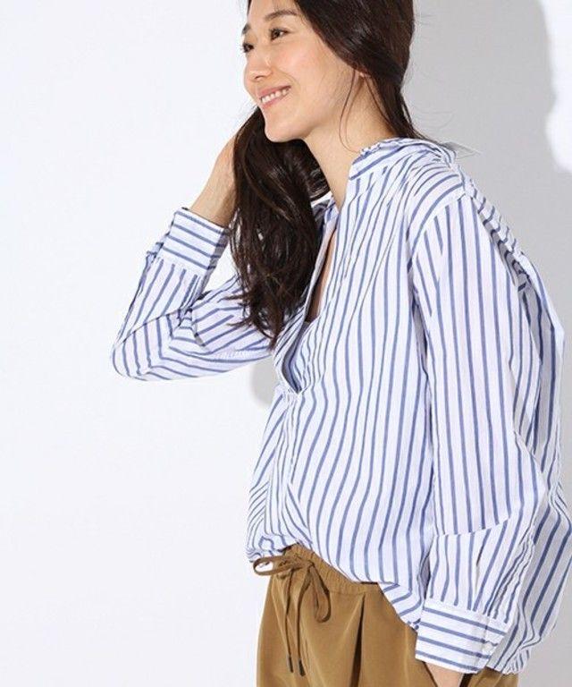 先染めマーセスキッパーシャツ