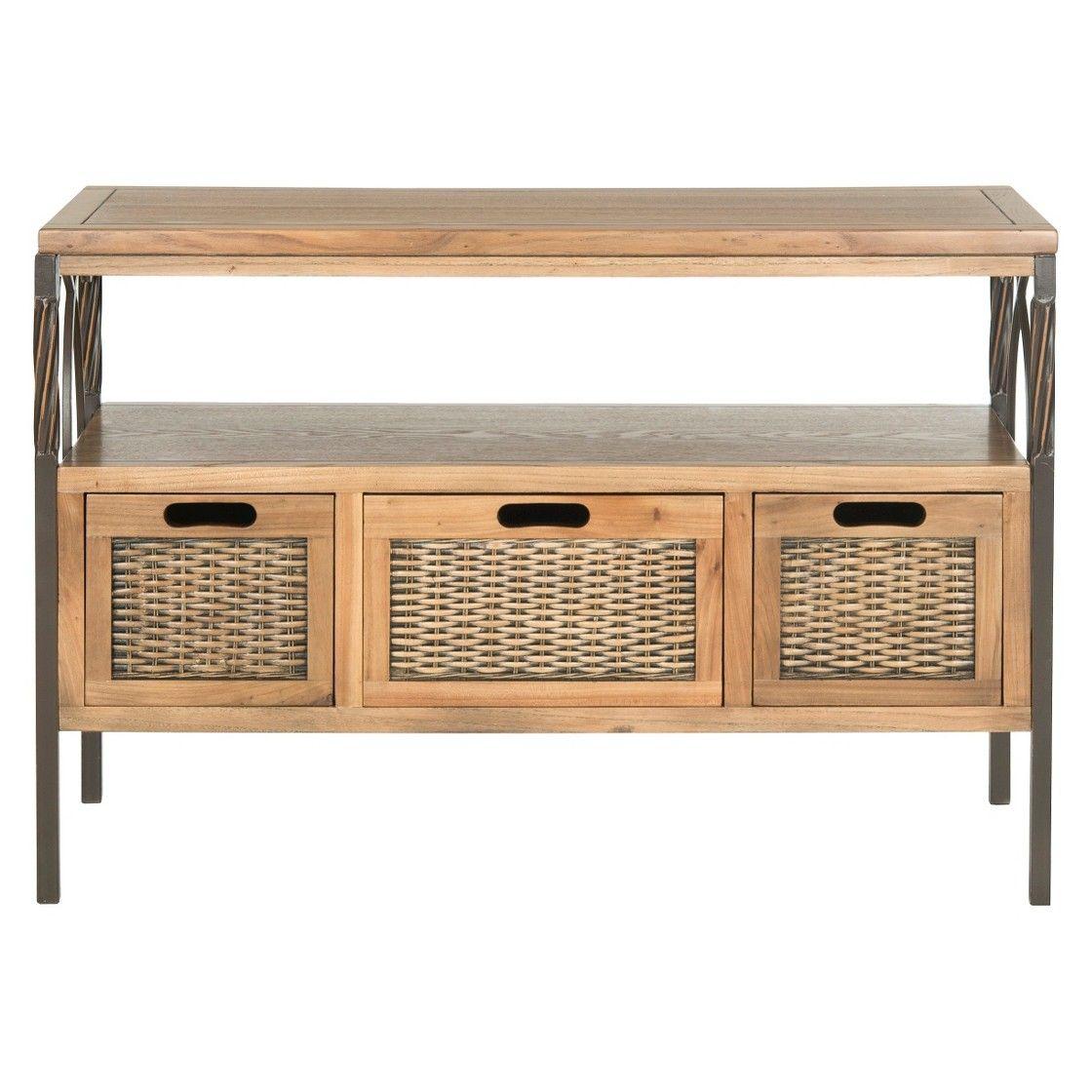 Hallway furniture oak Safavieh Joshua Console Table  Decorating Ideas  Pinterest