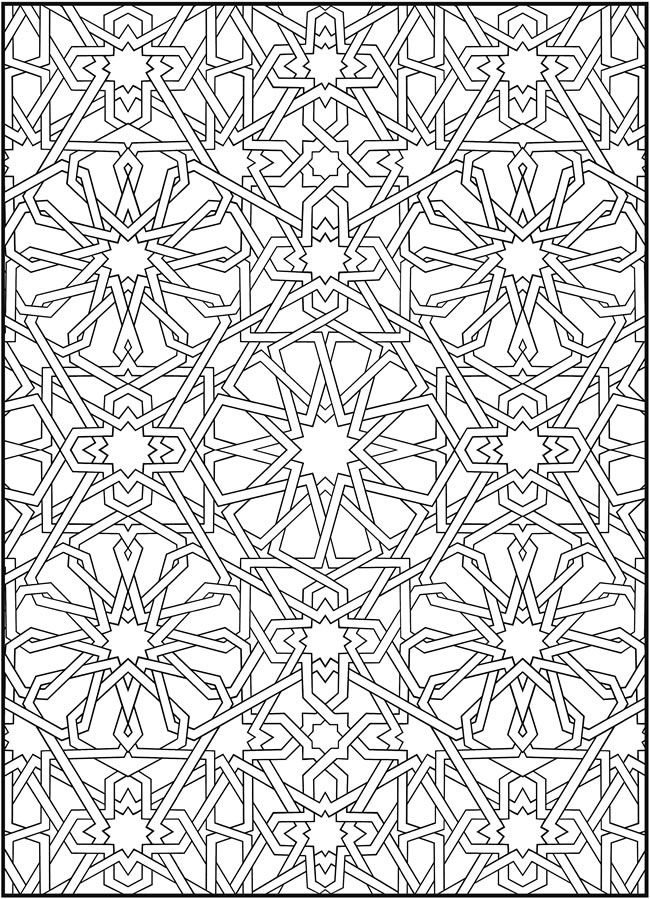 Mosaic Design 4 From Dover Publications Doverpublications Zb Samples 497488 Sample3dhtm