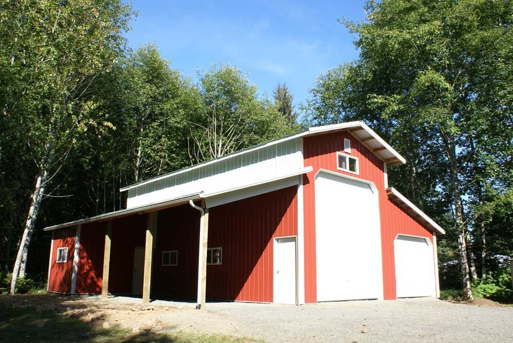 Pole building designs for rv 39 s rv storage buildings for Barn construction designs