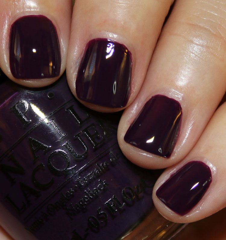 OPI Venice for Fall/Winter 2015 Collection   Vampy Varnish   HAIR ...