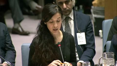 Nadi Murad Returns To The Un Security Council And Delivers A