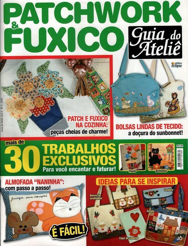 Revista Patchwork e fuxico - Sandra Vinivikas Artesanatos - Picasa ...