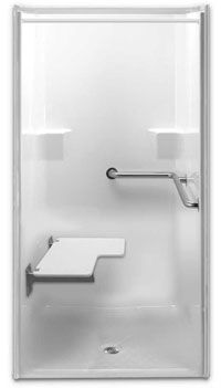 ada wheelchair showers enable you to enjoy barrier free bathing a
