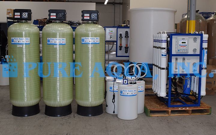 Commercial reverse osmosis purifier for hotel 15000 gpd