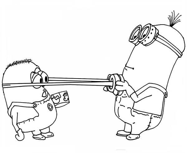 minions coloring pages of phil - photo#28